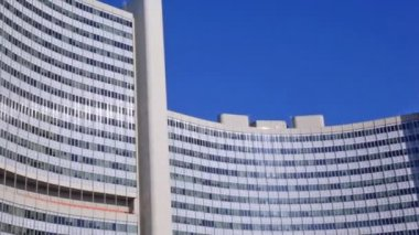 UN building of United Nations — Stock Video