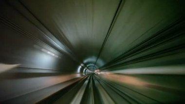 Underground tunnel — Stock Video