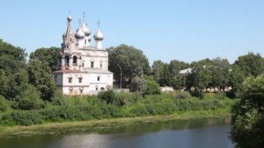 Ioann Zlatousta church — Vídeo de stock