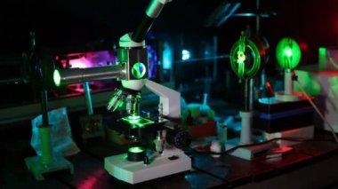 Complex of scientific devices — Stock Video