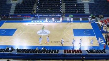 Zalgiris Kaunas before game — Vídeo Stock
