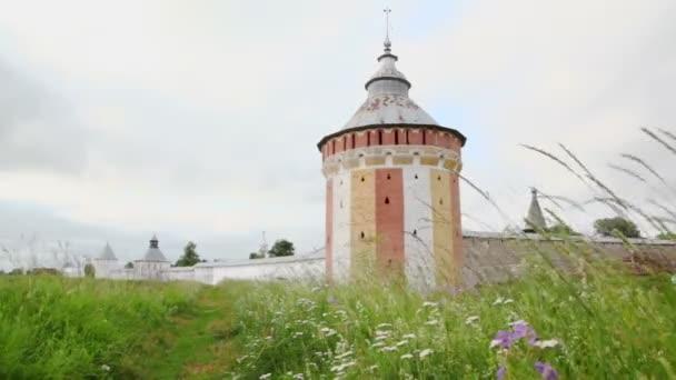 Saviour Prilutskyl Monastery in Vologda — Vidéo