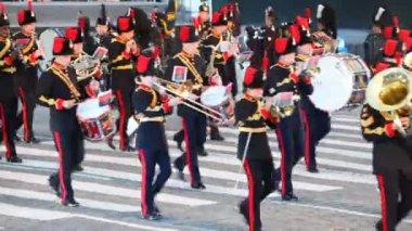 Scotland Orchestra parade — Stock Video