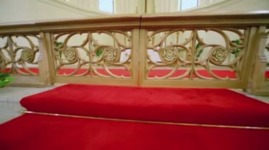 Sanctuary in Evangelical Lutheran Cathedral — Stock Video