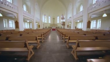 Evangelical Lutheran Cathedral — Stock Video
