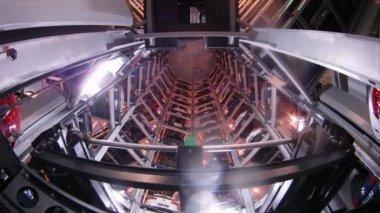 Tower car storage facility — Stok video