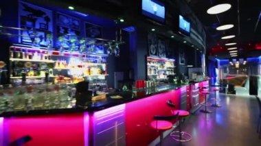 Bar counter at Prospect Bar — Stock Video