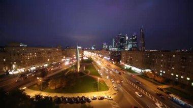 Monument Moscow Hero-city — Vídeo de Stock