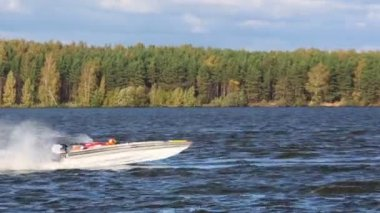 Powerboat Race Show 2012 — Wideo stockowe