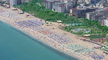 Cleopatra Beach in Alanya, Turkey — ストックビデオ