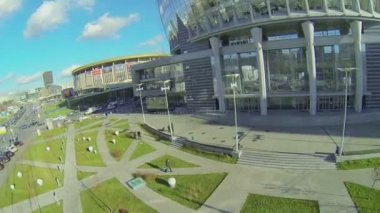 Olympiysky Sports Complex — Stock Video