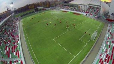 Arena of Locomotive stadium — Stock Video