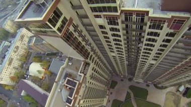 Dwelling complex Dubrovskaya Sloboda — Stockvideo