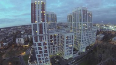 Residential complex Bogorodskiy — Stockvideo