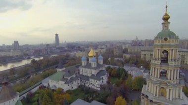 Novospasskiy Stauropegial Monastery — Vídeo de Stock
