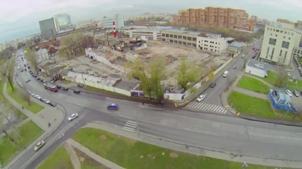 Removal of old dilapidated buildings — Vidéo