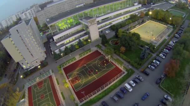 Sports complex of MGTU named by Bauman — Vidéo