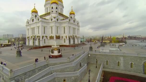 La cathédrale du sauveur du christ — Vidéo