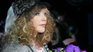 Musician performer Alla Pugacheva — Stock Video