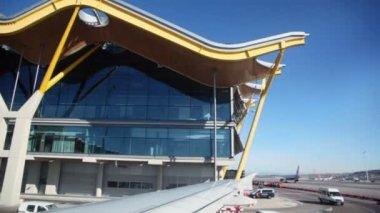 Madrid Barajas Airport — Stock Video