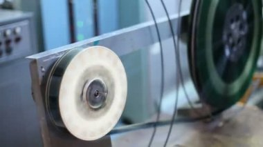 End of film on reels for videotape — Stock Video