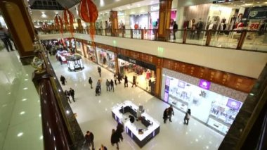 People make shopping in mall RIO. — Wideo stockowe
