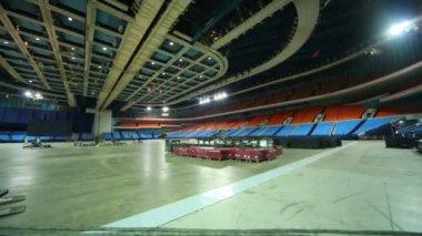 Olympiysky Sports Complex — Stock Video