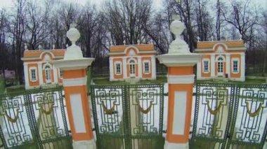 Menazherei  in museum-estate Kuskovo — Stock Video