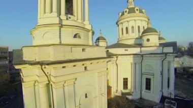 Edifice of St. Martin the Confessor church — Stock Video