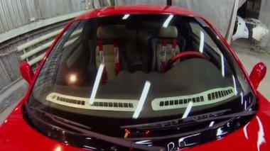 Car service workshop — Video Stock