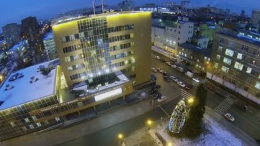 Urban sector with Prefecture of East District — Vidéo