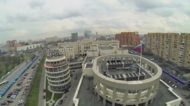 Edifice of Moscow City Court — Stock Video
