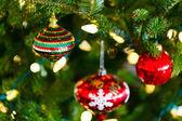 Kerstboom decoraties — Stockfoto