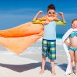 Kids at beach — Stock Photo #52827265