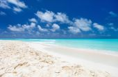 Caribbean beach and sea — Stock Photo