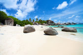 Picture perfect beach at Caribbean — Stockfoto