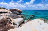Stunning beach at Caribbean — ストック写真