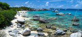 Picture perfect beach at Caribbean — Stock Photo