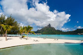 Bora Bora landscape — Stock Photo