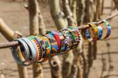 Masai traditional jewelry — Stock Photo