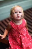Adorable toddler girl — Stock Photo