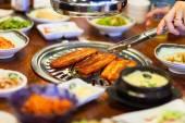 Korean barbecue — Stock Photo