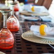 Table setting — Stock Photo #57665517