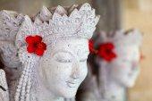 Balinese statue — Stock Photo