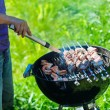 Grilling at summer weekend — Stock Photo #62633703