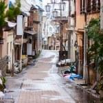 Hot spring resort town Shibu Onsen — Stock Photo #66996679