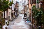 Hot spring resort town Shibu Onsen — Stock Photo
