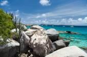 Stunning beach at Caribbean — Stock Photo