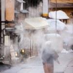 Hot spring resort town Shibu Onsen — Stock Photo #68185709