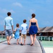 Family on summer vacation — Stock Photo #68881823